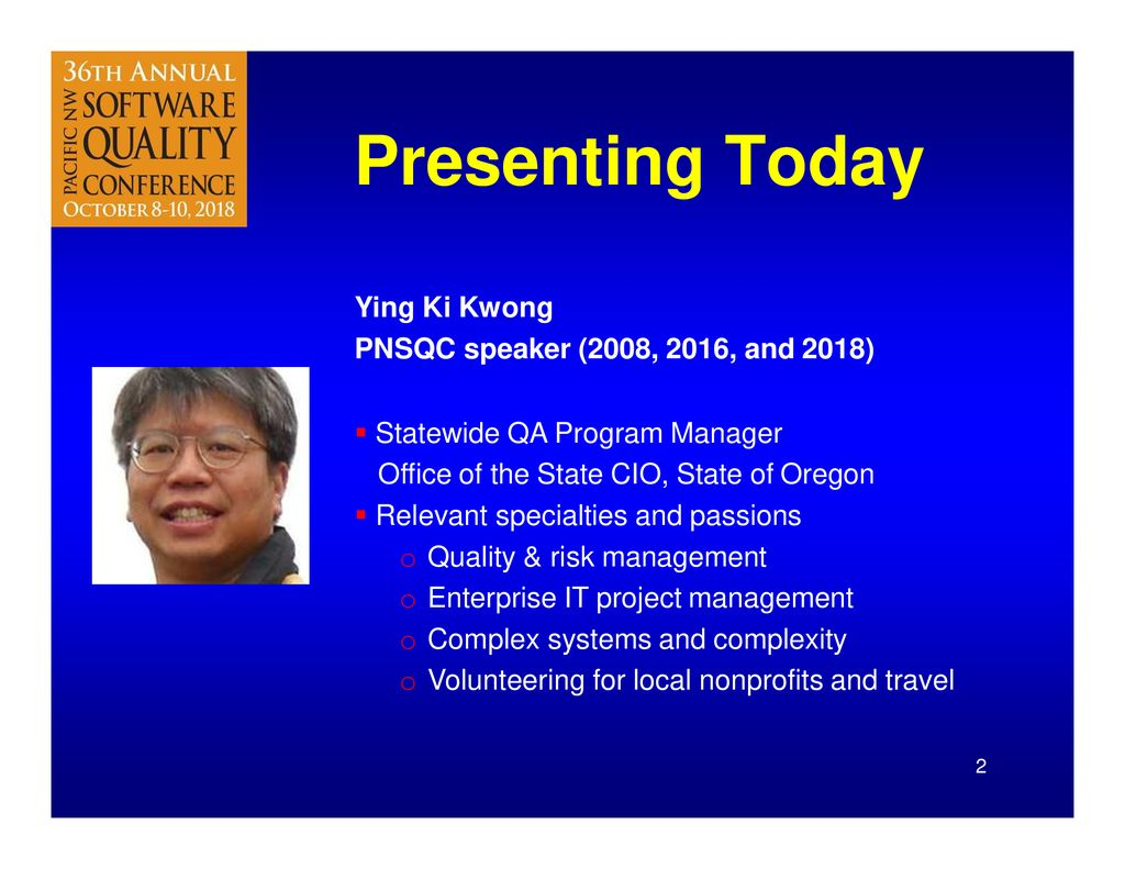 Quality & Risk Management Challenges when acquiring