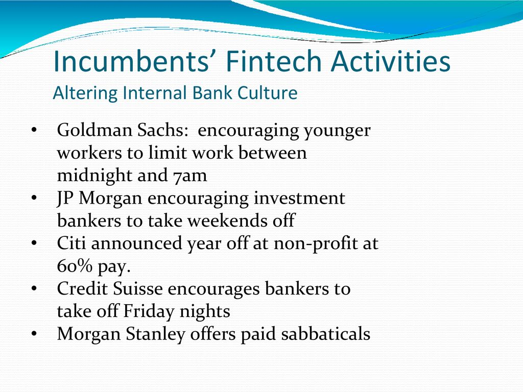 Fintech Chapter 17 They're Not Dead Yet: How Big Financial