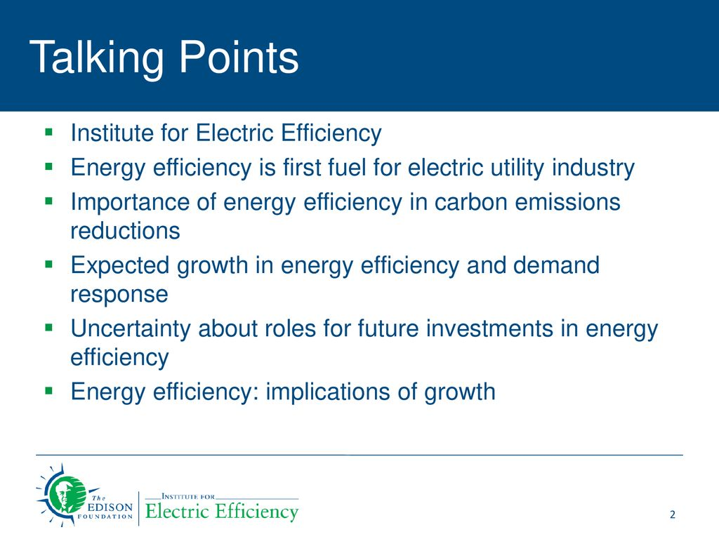 Energy Efficiency as a Resource for the Electric Utility