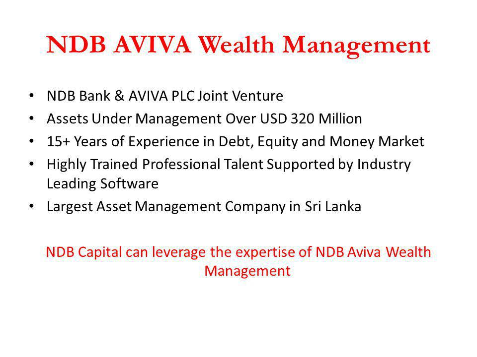 NDB AVIVA Wealth Management