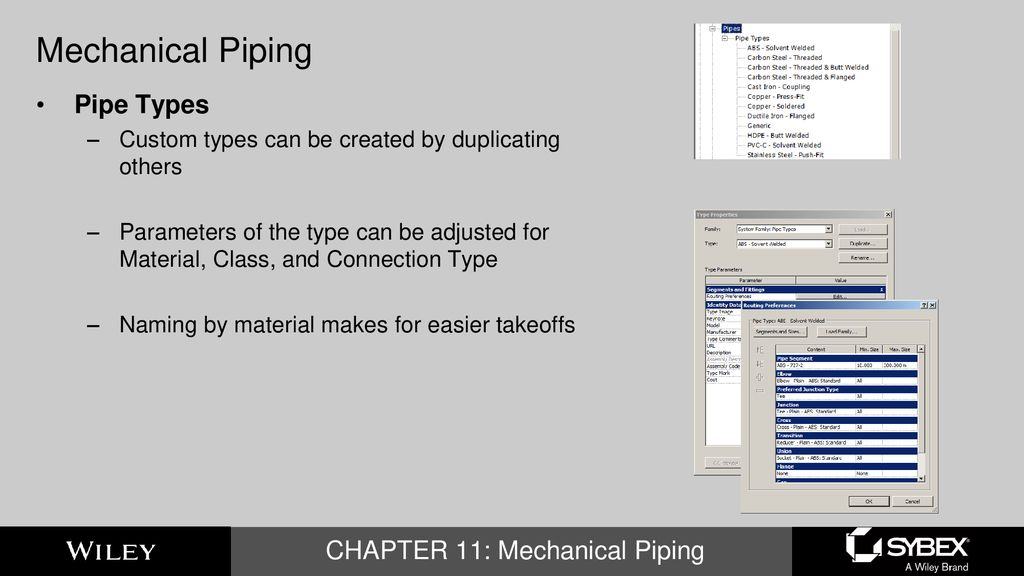 Mastering Autodesk Revit MEP 2016 CHAPTER 11: Mechanical Piping