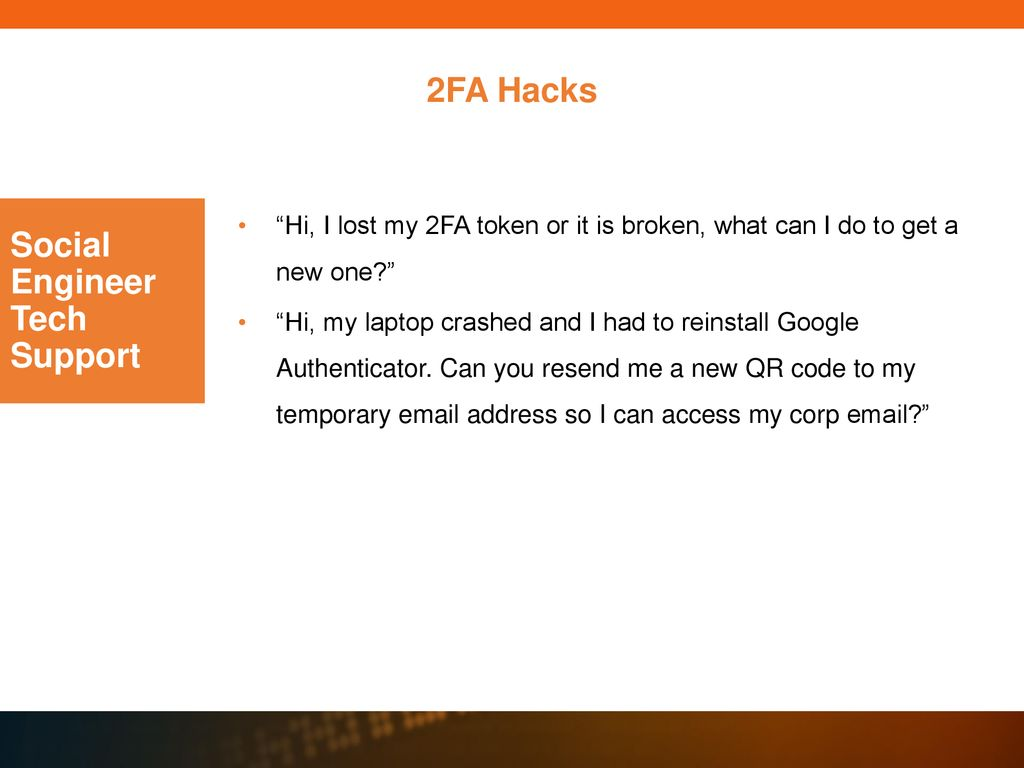 Twelve Ways to Defeat Two-Factor Authentication - ppt download