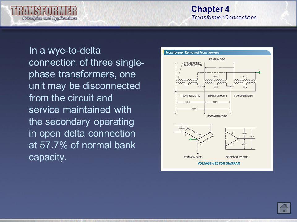 chapter 4 transformer connections ppt video online download rh slideplayer com Open Leg Delta Single Phase Transformer Wiring Diagram
