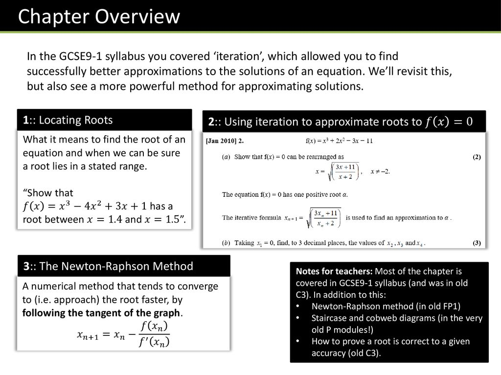 P2 Chapter 10 :: Numerical Methods - ppt download