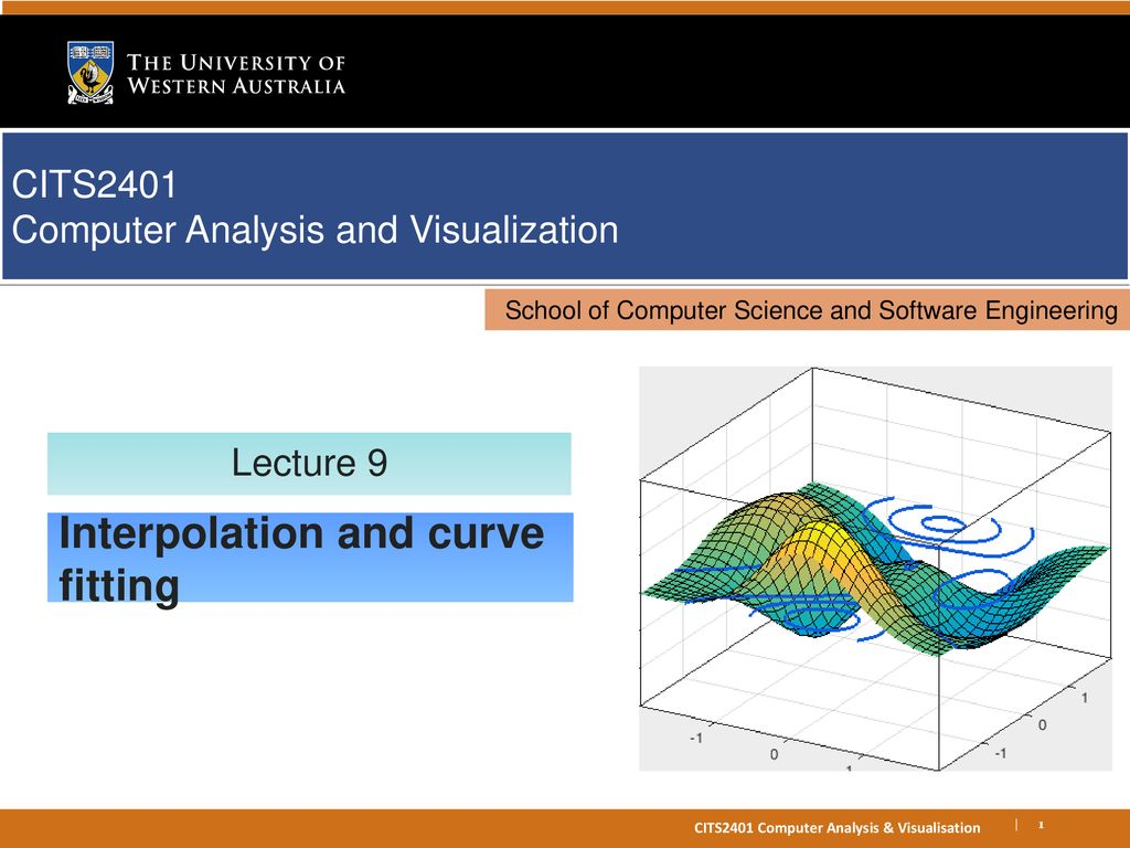 Interpolation and curve fitting - ppt download