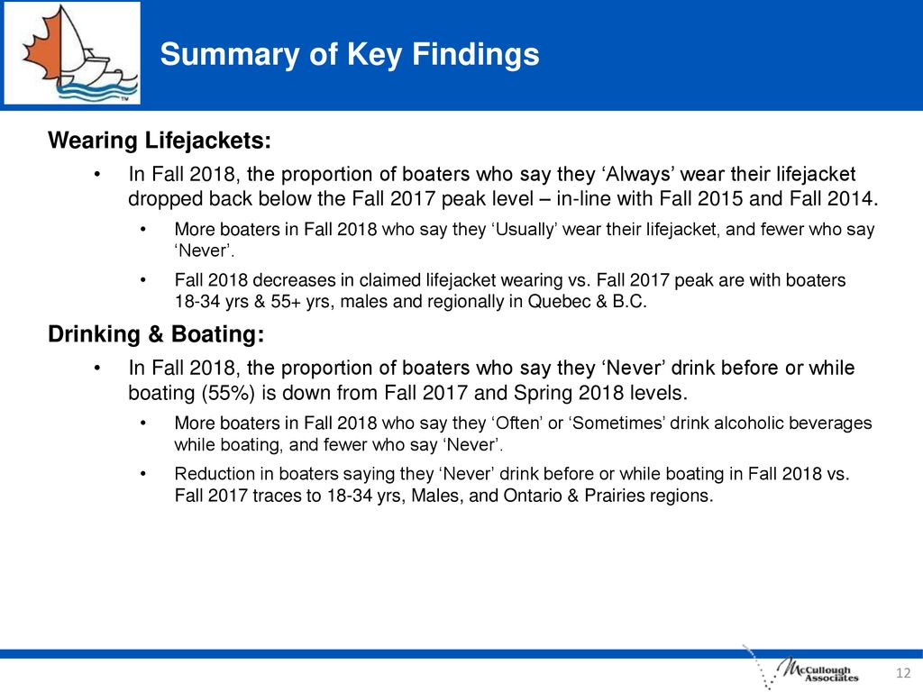 Summary of Key Findings