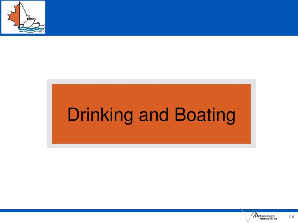 Drinking and Boating