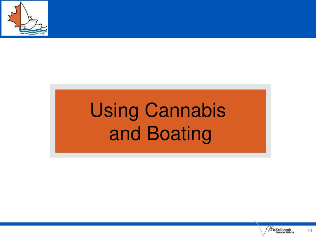 Using Cannabis and Boating