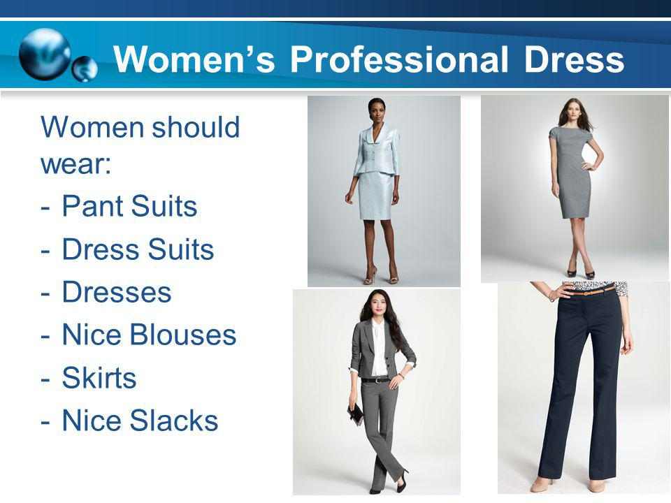 Professional Dress Guidelines Ppt Video Online Download