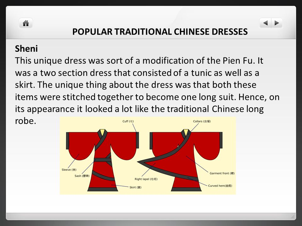 POPULAR TRADITIONAL CHINESE DRESSES