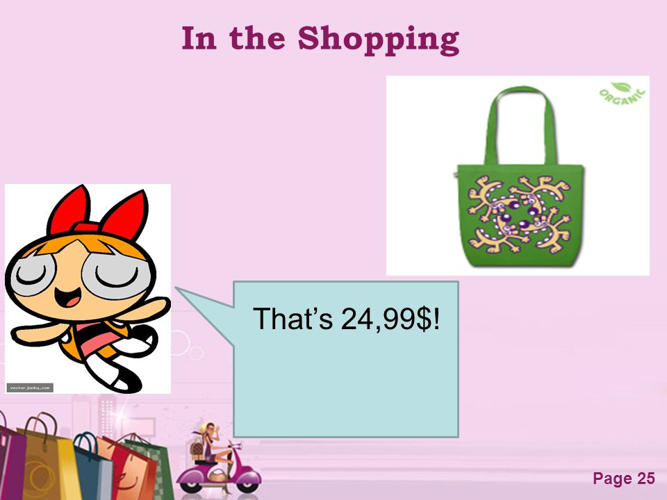 In the Shopping That's 24,99$!