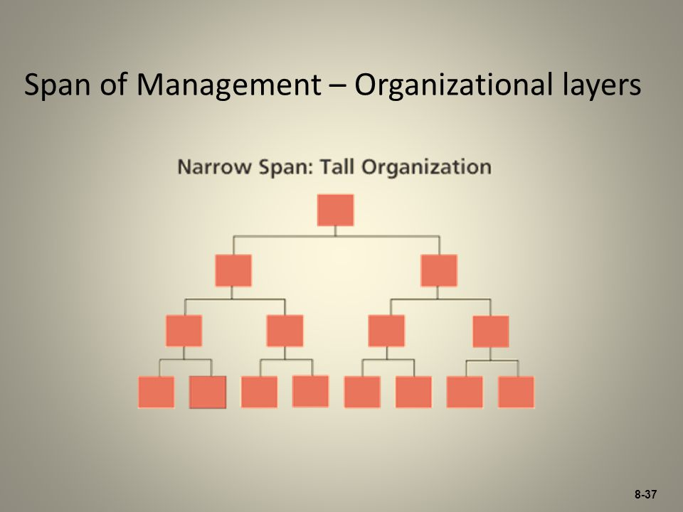Span of Management – Organizational layers