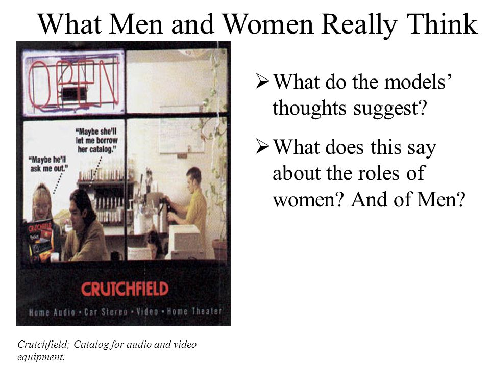 What Men and Women Really Think