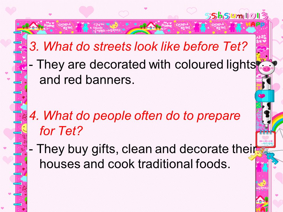 3. What do streets look like before Tet
