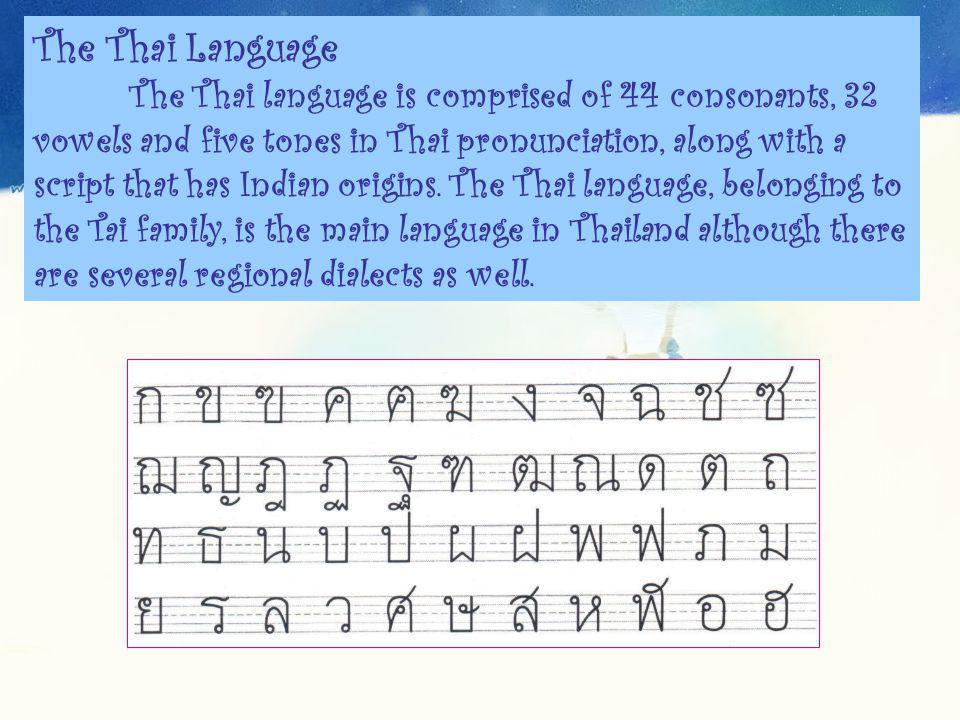 Thailand culture ppt video online download the thai language m4hsunfo