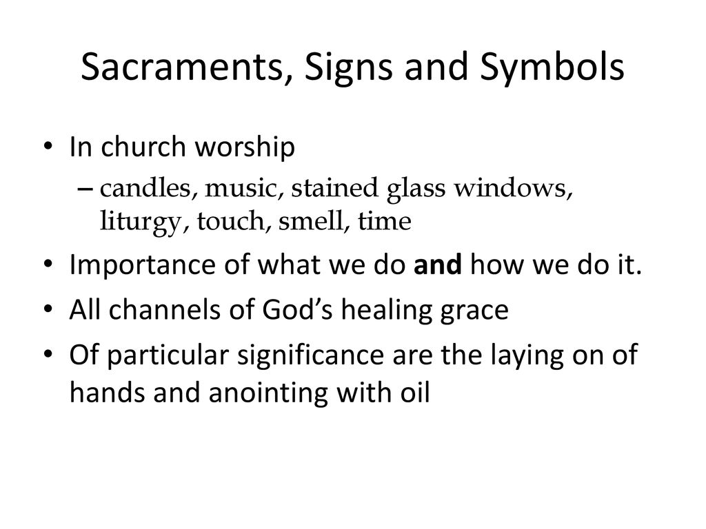 Session 6: SACRAMENTAL MINISTRY OF HEALING - ppt download
