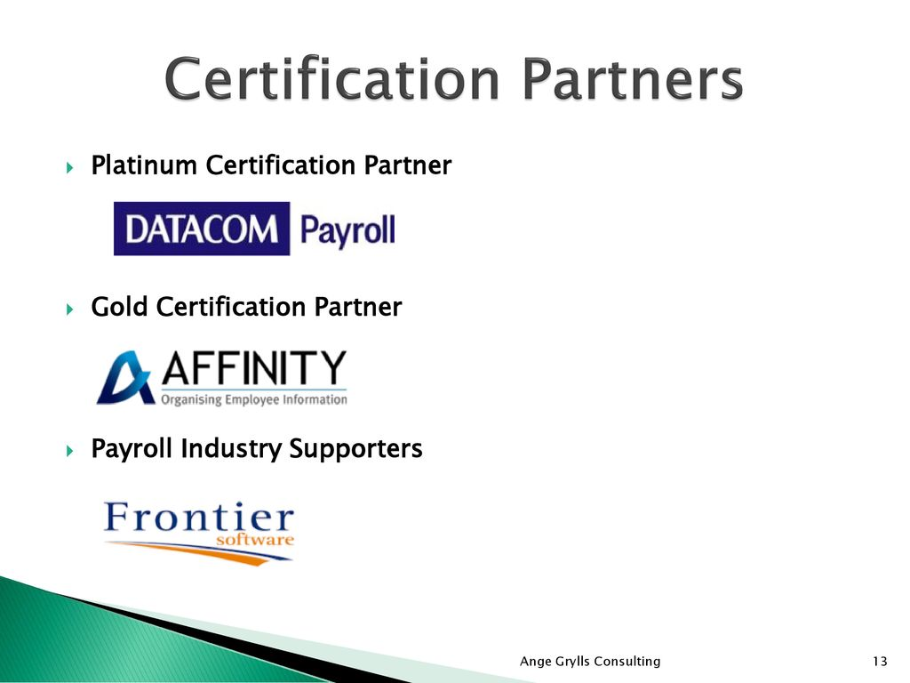 Payroll Certification Ppt Download