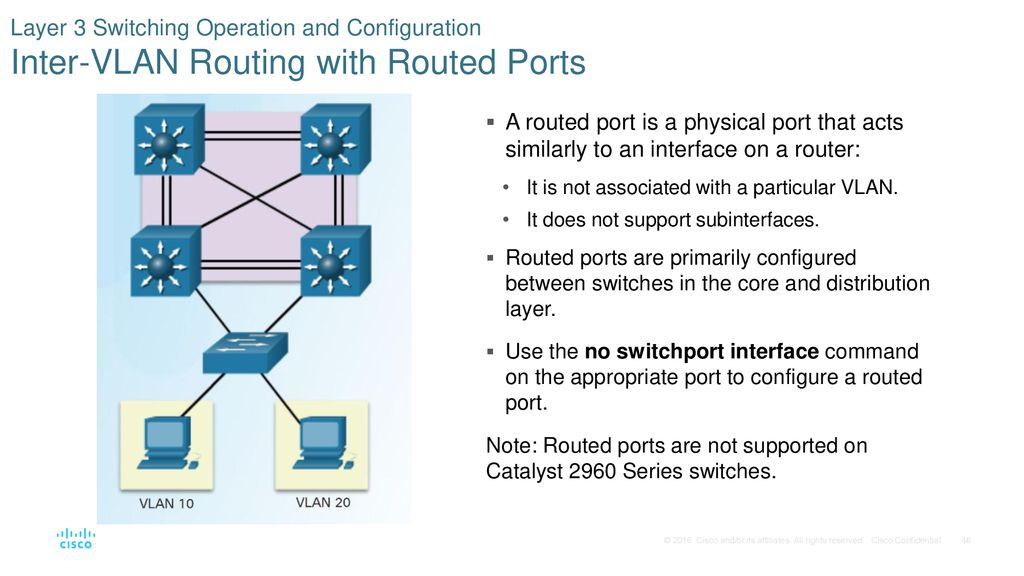 Chapter 2: Scaling VLANs - ppt download