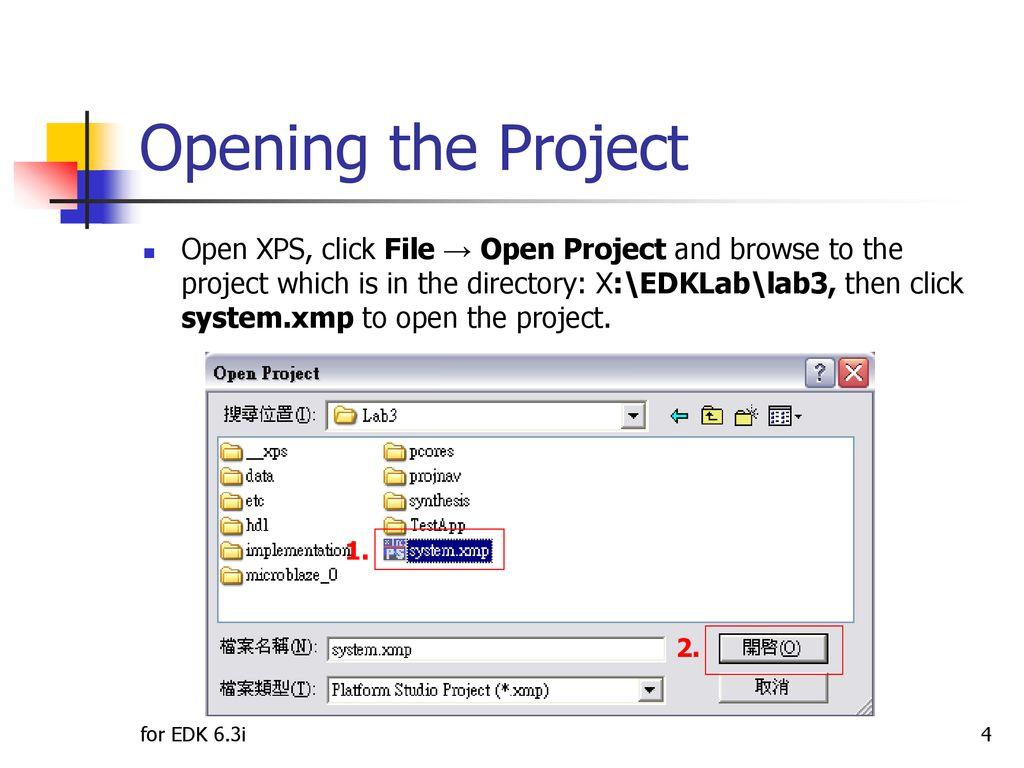 Lab3 Adding Custom IP Lab: MicroBlaze - ppt download