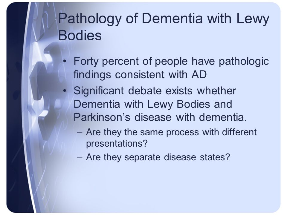 Pathology of Dementia with Lewy Bodies