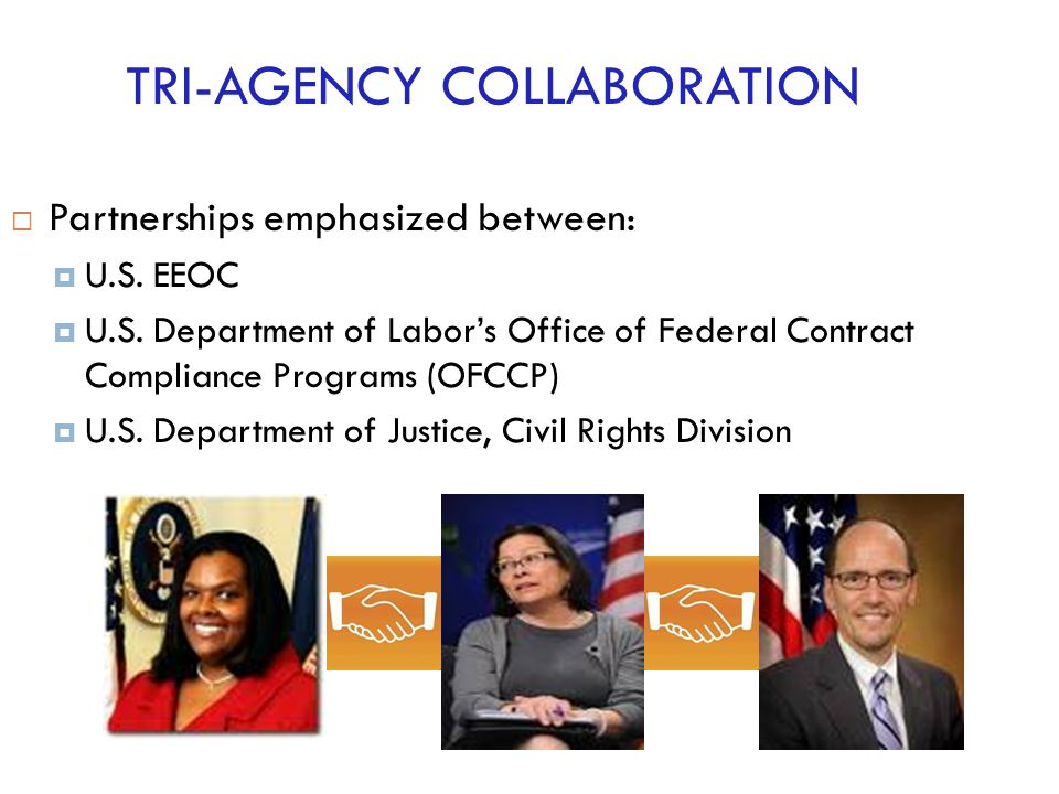 TRI-AGENCY COLLABORATION