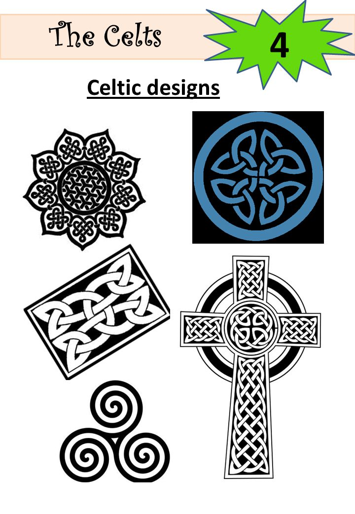 The Celts 4 Celtic designs