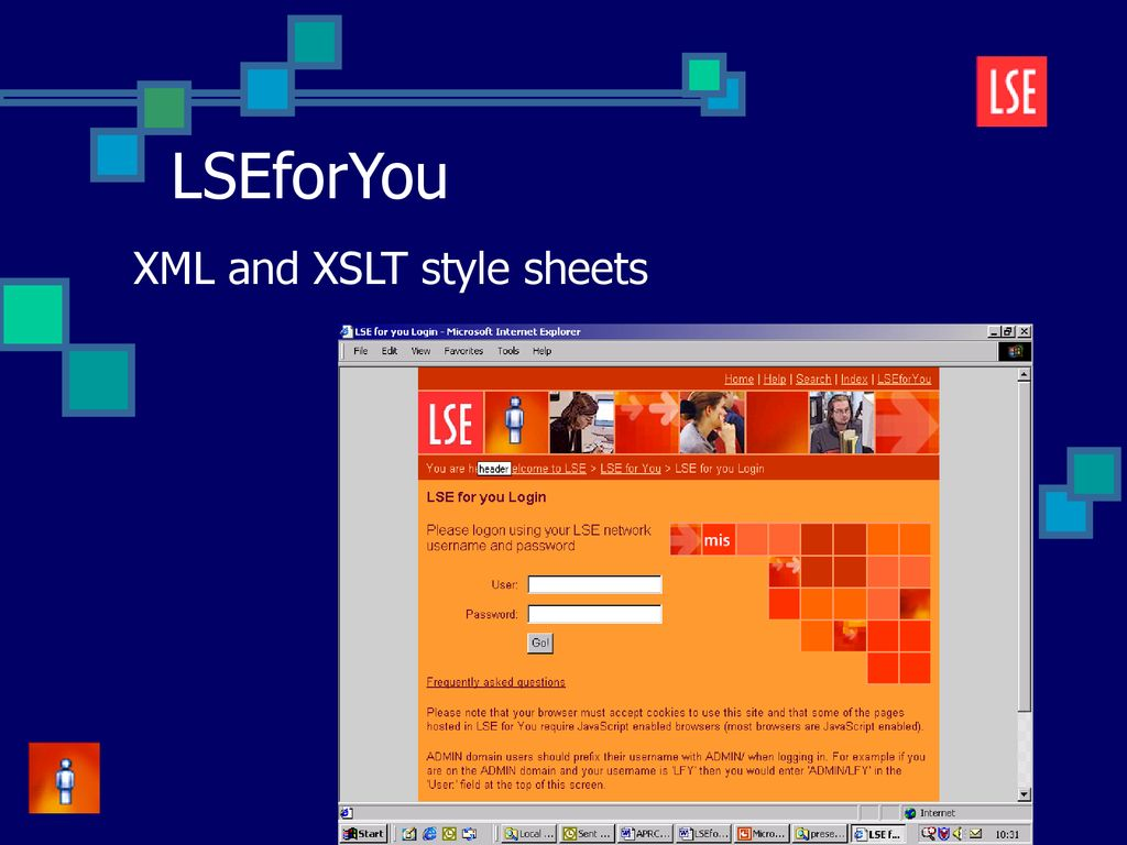 LSE for You Self-Service Administration Portals ppt download