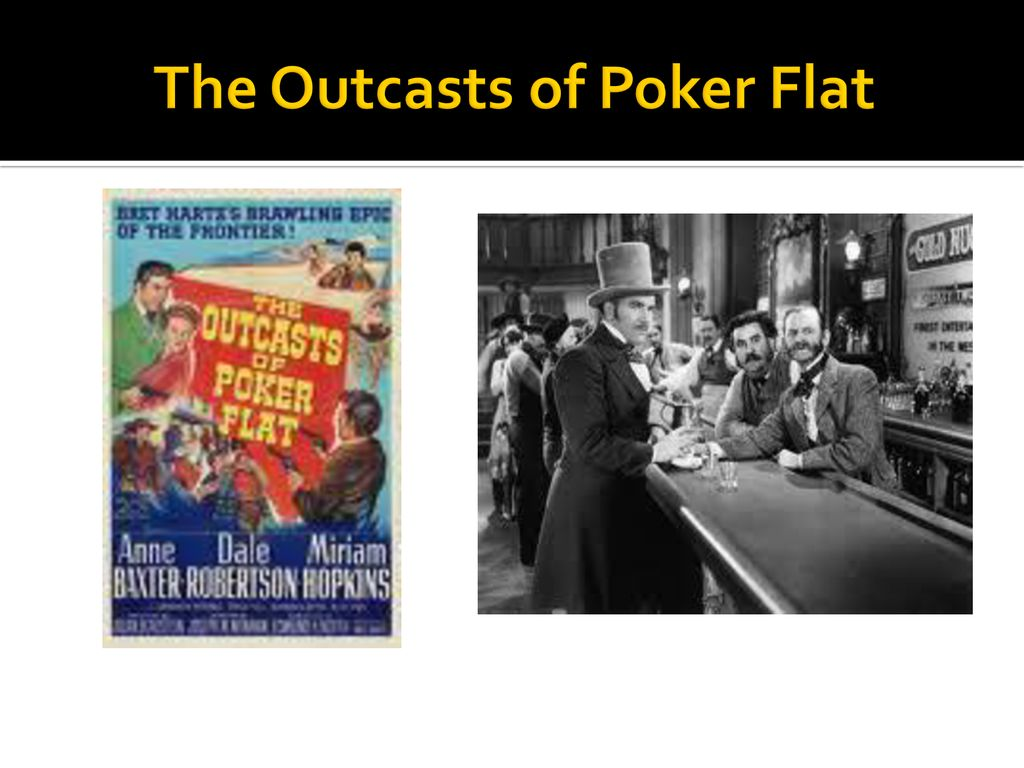 theme of the outcasts of poker flat