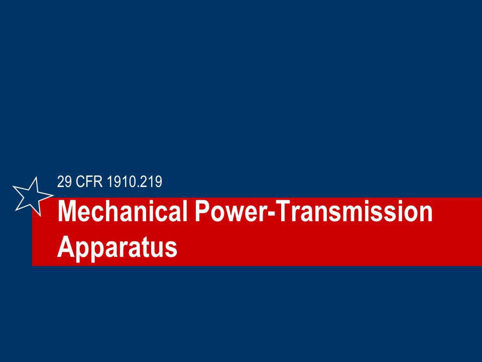 Mechanical Power-Transmission Apparatus