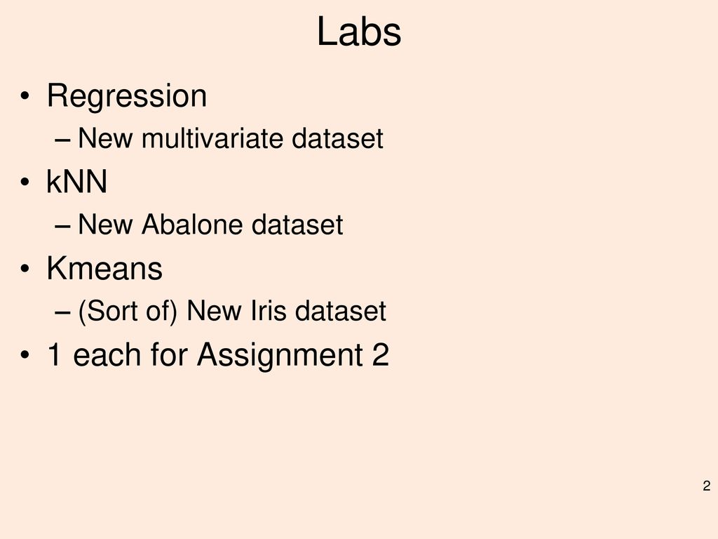 Assignment 2 (in lab) Peter Fox and Greg Hughes - ppt download
