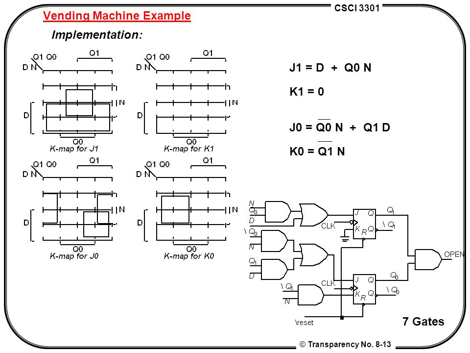 chapter 8 finite state machine design contemporary logic design rh slideplayer com Transistor Circuit Design Circuit Board Design