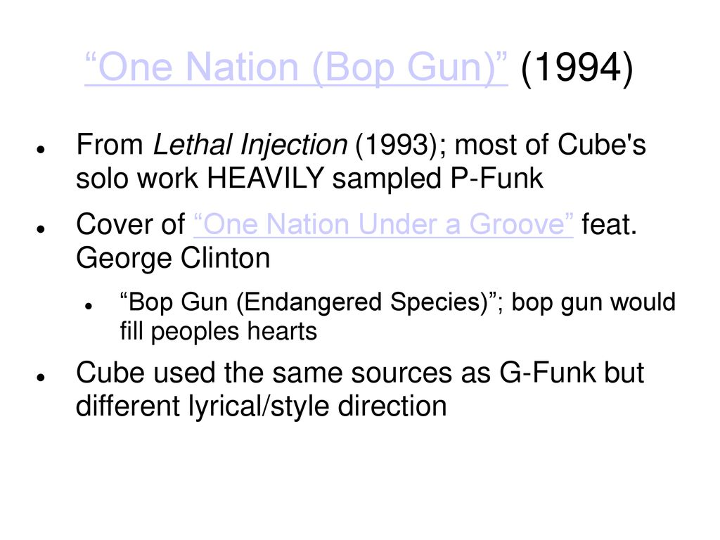 G-Funk  - ppt download