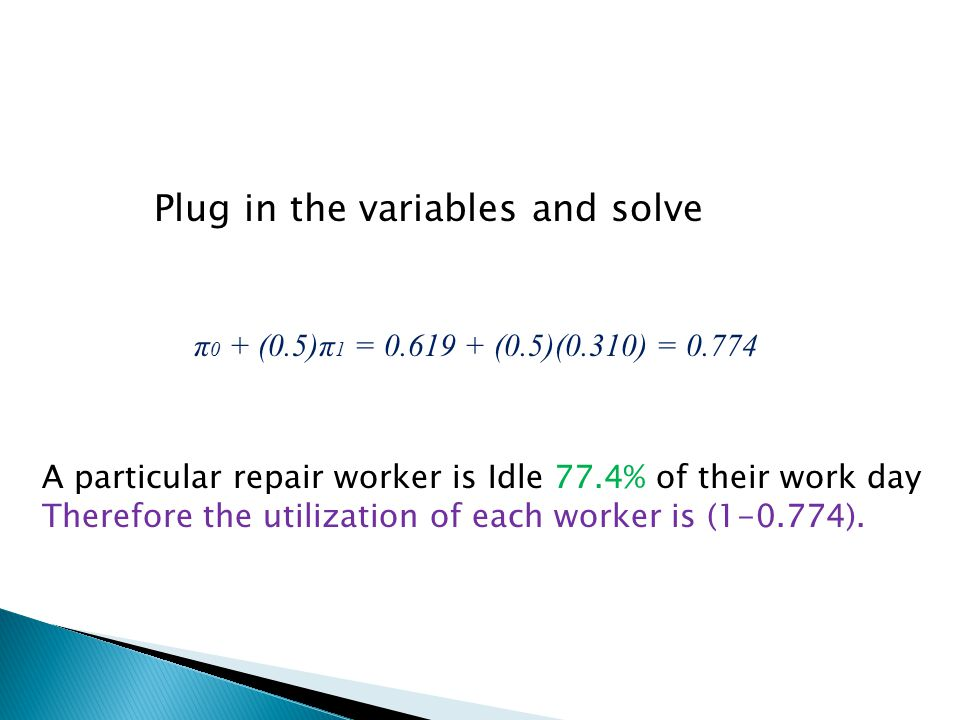 Plug in the variables and solve