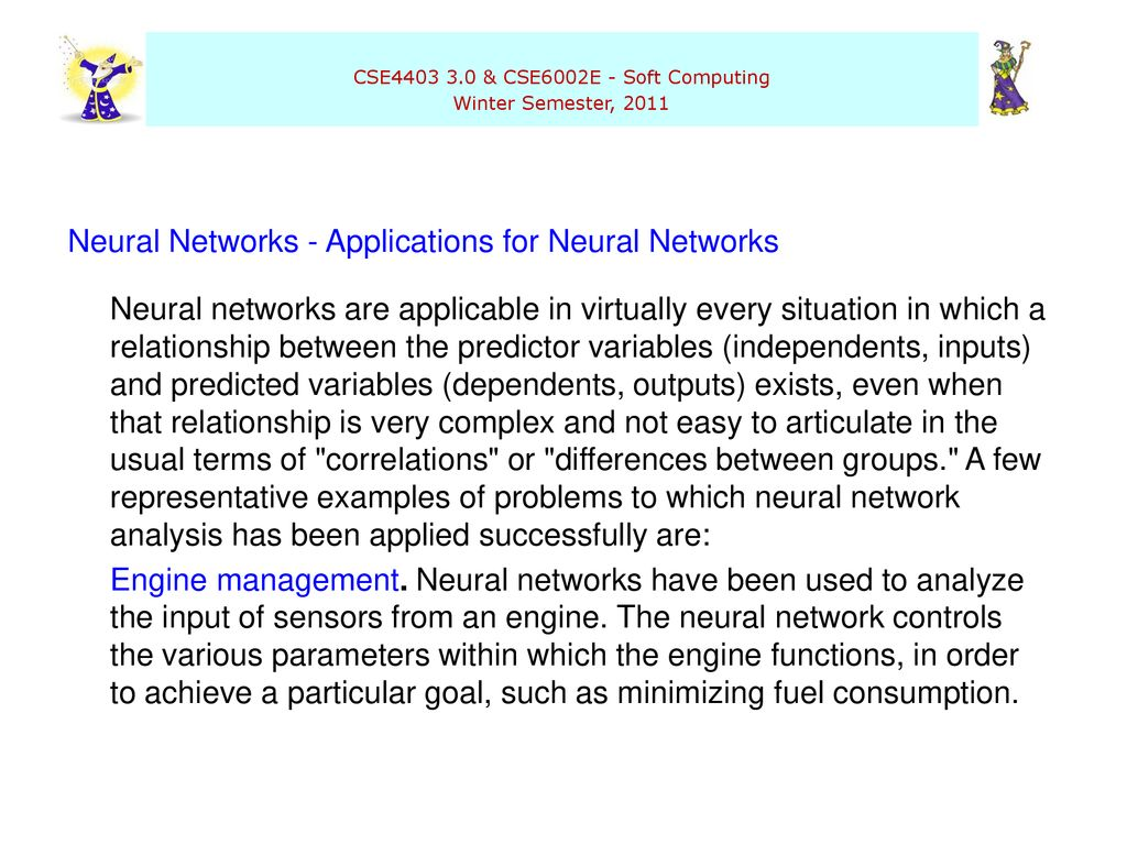 Neural Networks Questions Motivation Applications