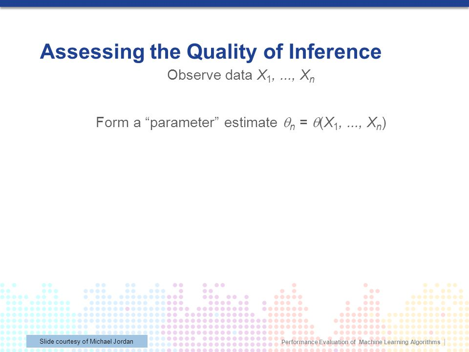 Assessing the Quality of Inference