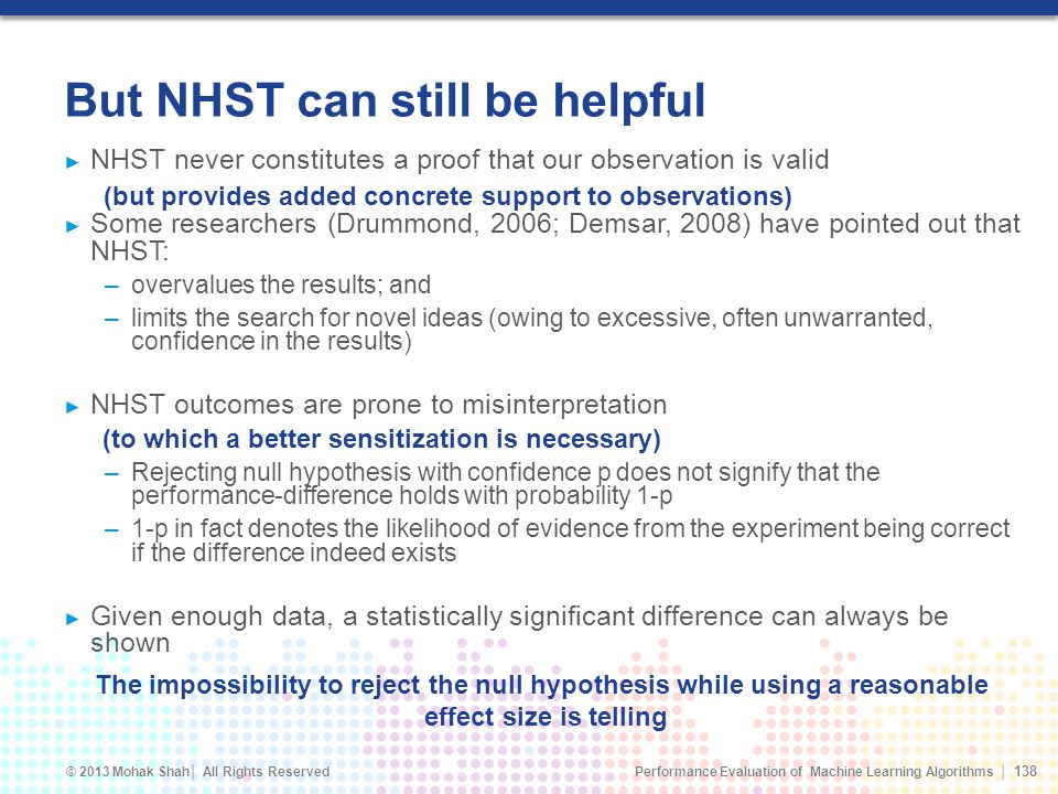 But NHST can still be helpful