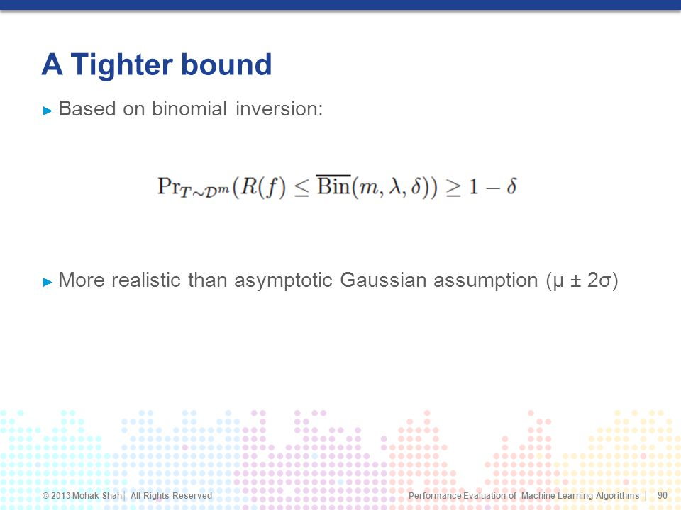 A Tighter bound Based on binomial inversion: