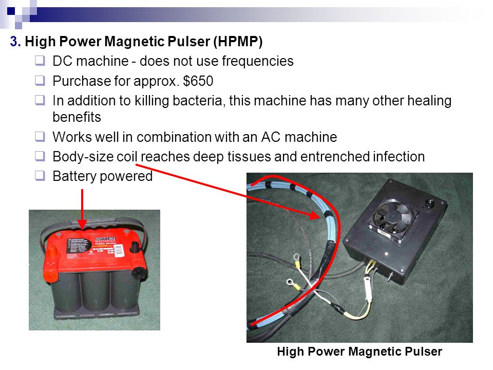 High Power Magnetic Pulser