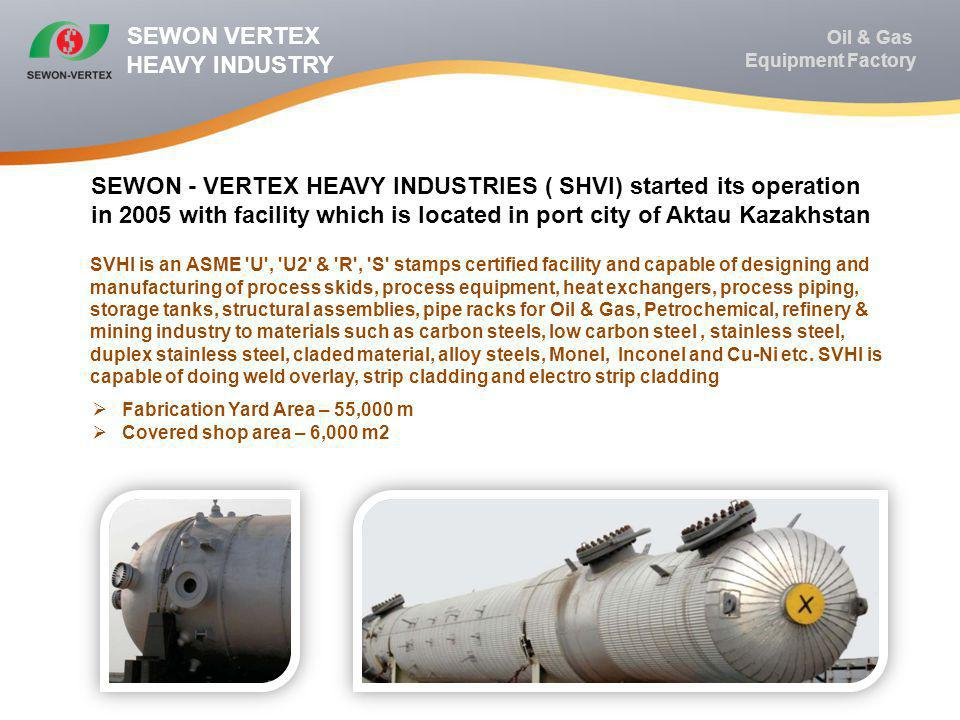 SEWON VERTEX HEAVY INDUSTRY