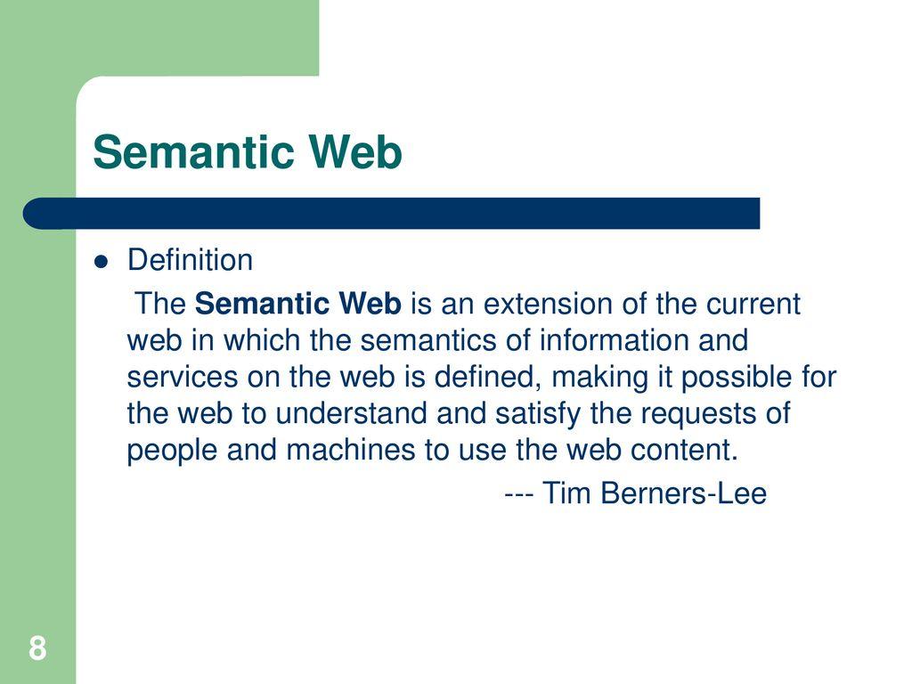 semantic extension definition