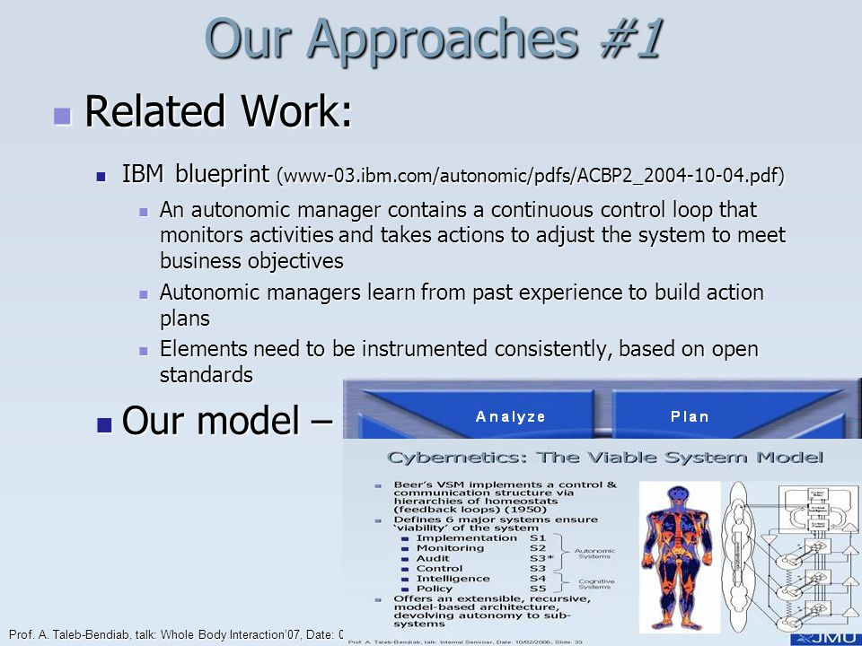 Our Approaches #1 Related Work: Our model – J Reference