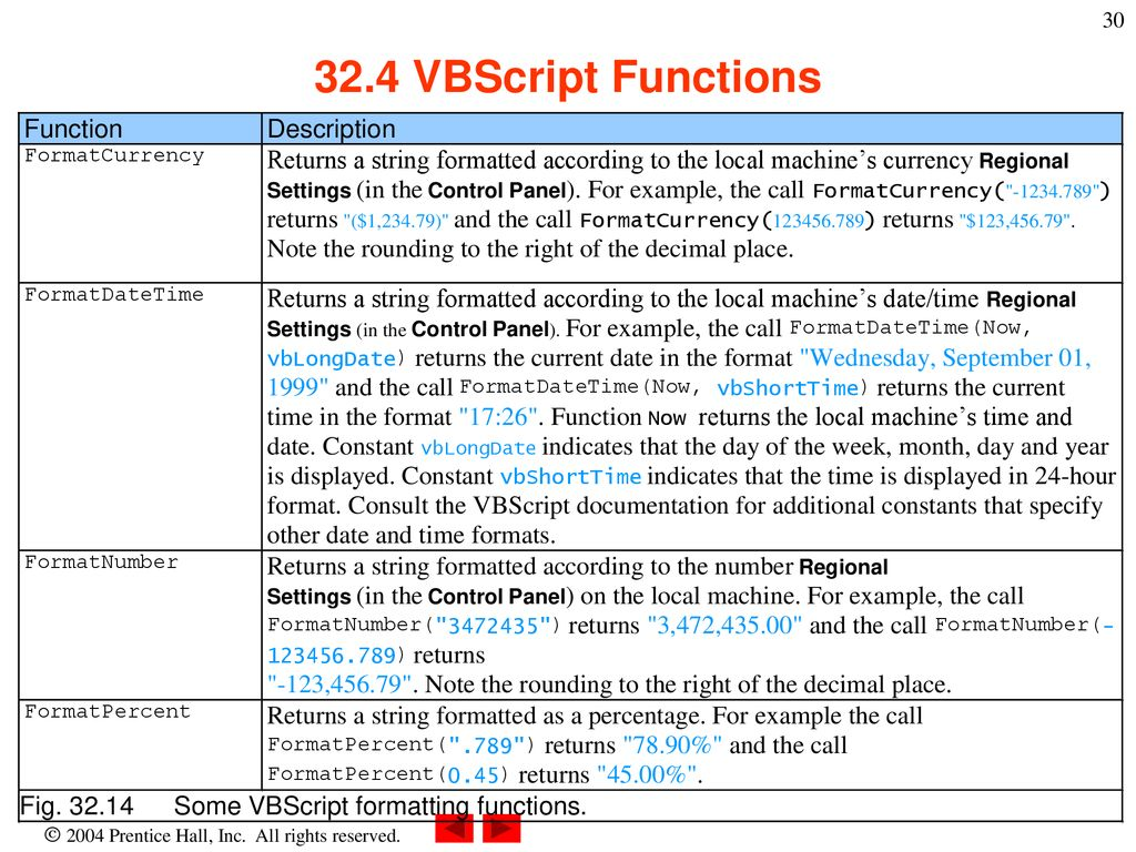 VBScript Outline 32 1 Introduction 32 2 Operators - ppt download