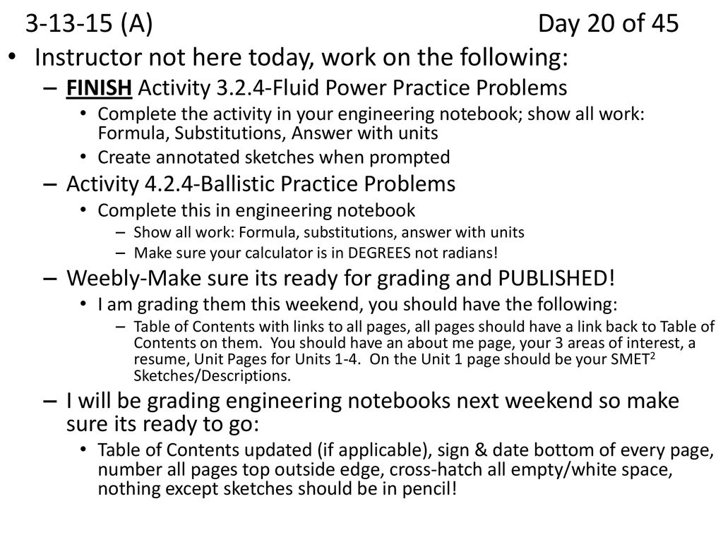 fluid power practice problems pltw answer key
