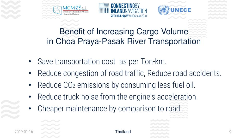 Thailand Inland Water Transport System - ppt download