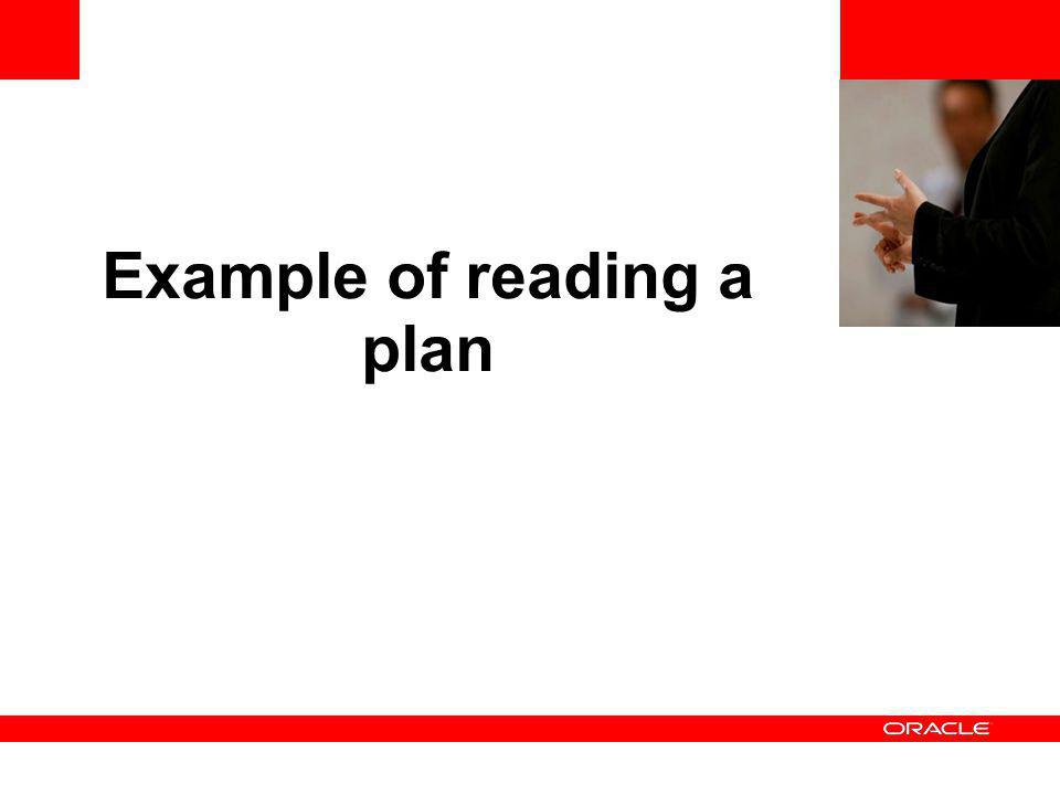 <Insert Picture Here> Example of reading a plan