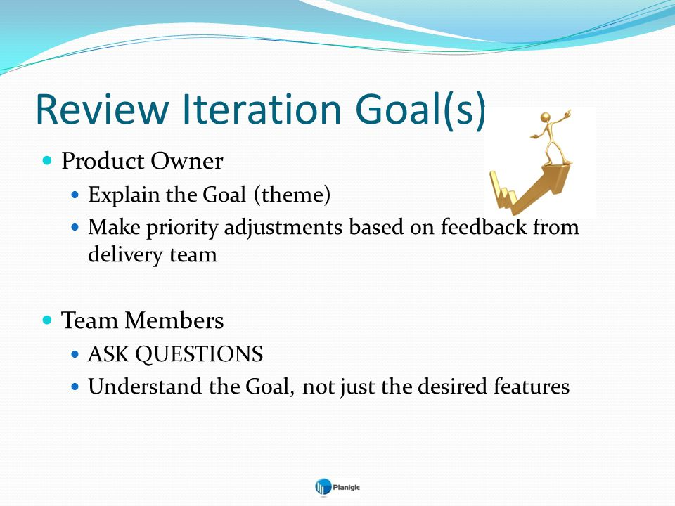 Review Iteration Goal(s)
