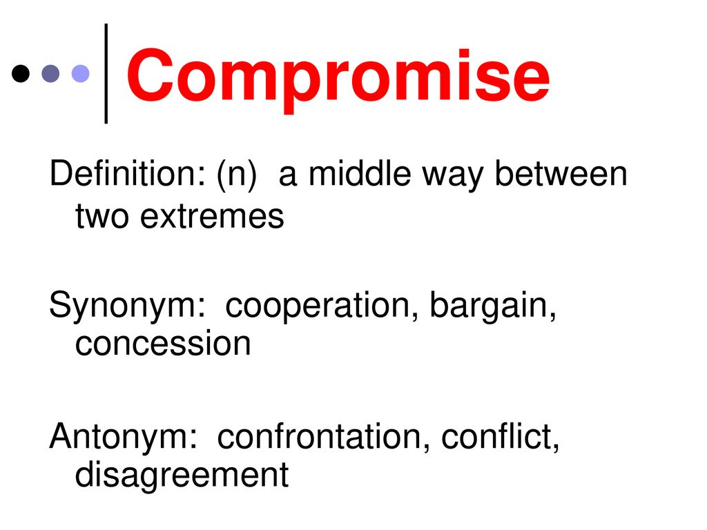 5 Compromise