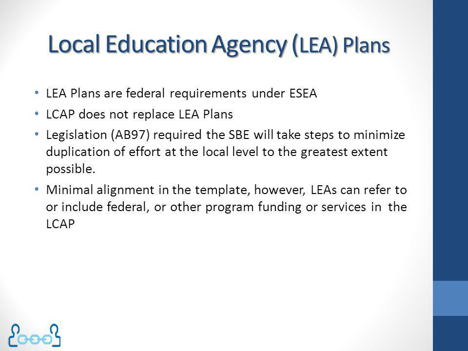 Local Education Agency (LEA) Plans