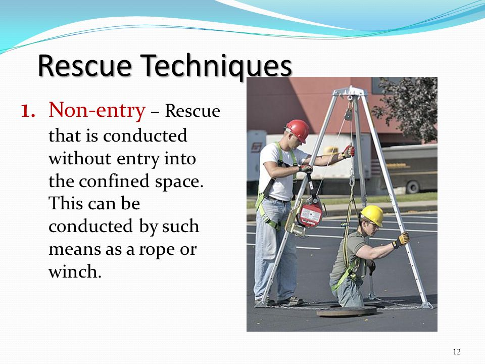 Confined space attendant training ppt