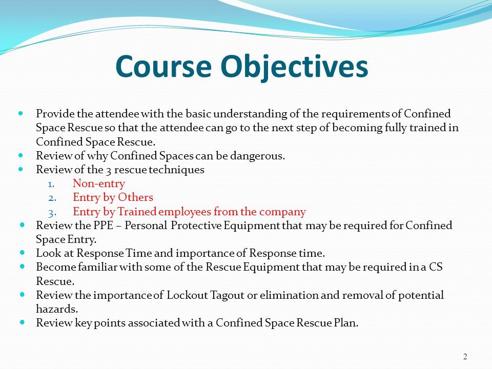 Confined Space Rescue Awareness Ppt Video Online Download